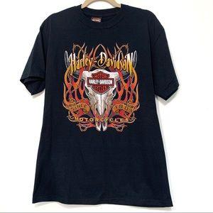 Harley-Davidson Buffalo Skull Graphic T-Shirt
